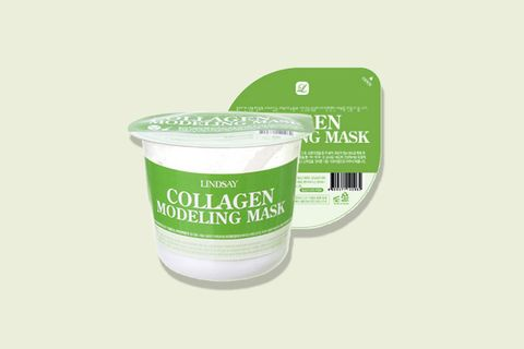 "<p>A K-beauty staple, rubber masks are basically a packaged DIY that makes your skin look noticeably brighter and smoother. Just add a bit of water to the cup of powder, cover your face with the mixture, wait a few minutes, and <i data-redactor-tag=""i"">boom</i>, a sheet of wiggly, peel-able rubber forms on your skin.</p><p><i data-redactor-tag=""i"">Lindsay Modeling Rubber Mask, $11 for set of two</i></p><p><strong data-redactor-tag=""strong"">BUY IT: <a href=""https://www.glowrecipe.com/products/lindsay-modeling-rubber-mask-set"">glowrecipe.com</a>. </strong></p>"