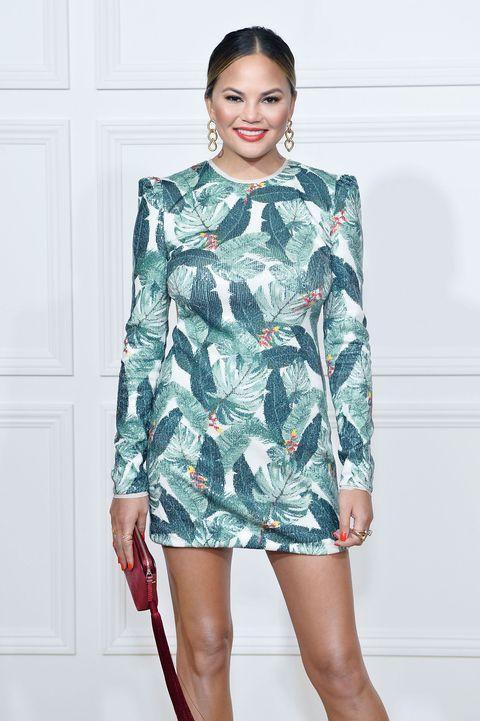 Clothing, Fashion model, Fashion, Dress, Shoulder, Fashion show, Footwear, Sleeve, Design, Fashion design,
