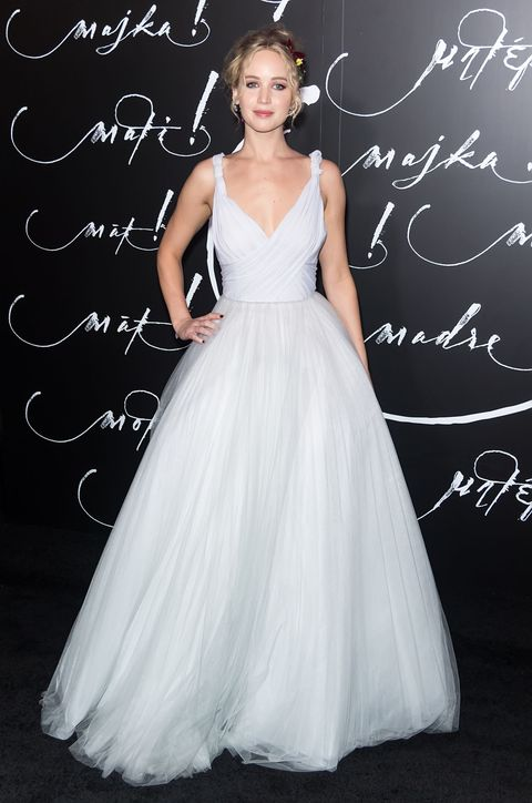 "<p>We <a href=""http://www.marieclaire.com/fashion/news/a27299/cannes-celebrities-white/"" target=""_blank"" data-tracking-id=""recirc-text-link"">felt the first tremblings of this one at Cannes</a>, where celebrities sometimes wore *literal* wedding dresses on the red carpet, and the seismic activity surrounding bridal white—a former no-no—is only spreading. Just look at Jennifer Lawrence in Dior. <a href=""http://www.marieclaire.com/culture/news/a29342/mother-2017-movie-review/"" target=""_blank"" data-tracking-id=""recirc-text-link"">Much more successful than the movie she was promoting</a>, I reckon. </p>"