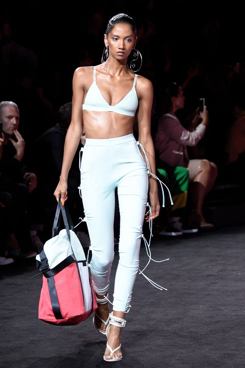 <p>You will find that this slideshow is ordered by descending outlandishness with full-length shots, followed by&nbsp;closeups of the advertised leveled-up flip-flops. Here, we begin with Rihanna's take on the surfer-y Havaianas—but with a heel and a surfboard leash functioning as an ankle strap.&nbsp;&nbsp;</p>