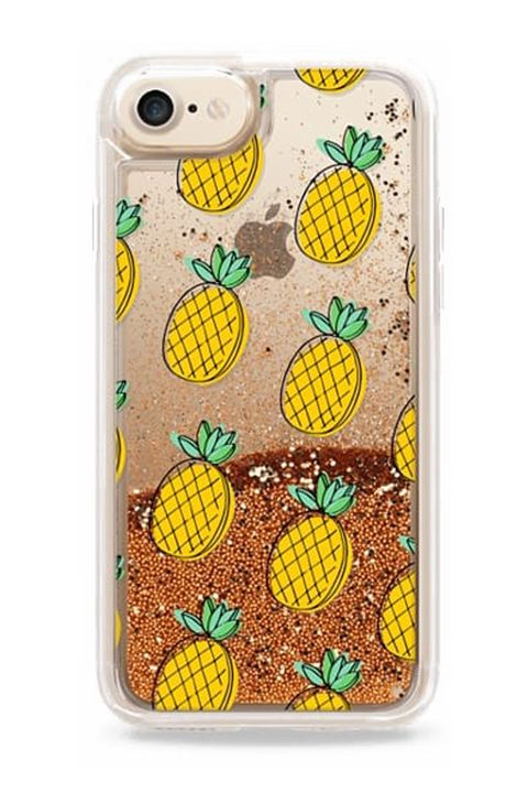 "<p>They're in my head. They're on my phone. They're on pillows and towels and ties, because pineapples are&nbsp;the It fruit, and there's no escaping them.</p><p><em data-redactor-tag=""em"" data-verified=""redactor"">Casetify, $45</em></p><p><strong data-redactor-tag=""strong"" data-verified=""redactor"">BUY IT:&nbsp;</strong><span class=""redactor-invisible-space"" data-verified=""redactor"" data-redactor-tag=""span"" data-redactor-class=""redactor-invisible-space""><strong data-redactor-tag=""strong"" data-verified=""redactor""><a href=""https://www.casetify.com/product/Pnare_pineapples/iphone8/glitter-case-gold-chrome?color=gold#/530600"" target=""_blank"" data-tracking-id=""recirc-text-link"">casetify.com</a>.</strong></span><br></p>"