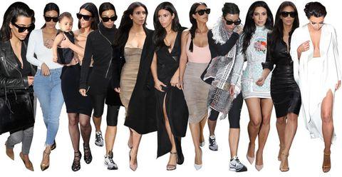 what kim kardashian wore during the weekend she got married