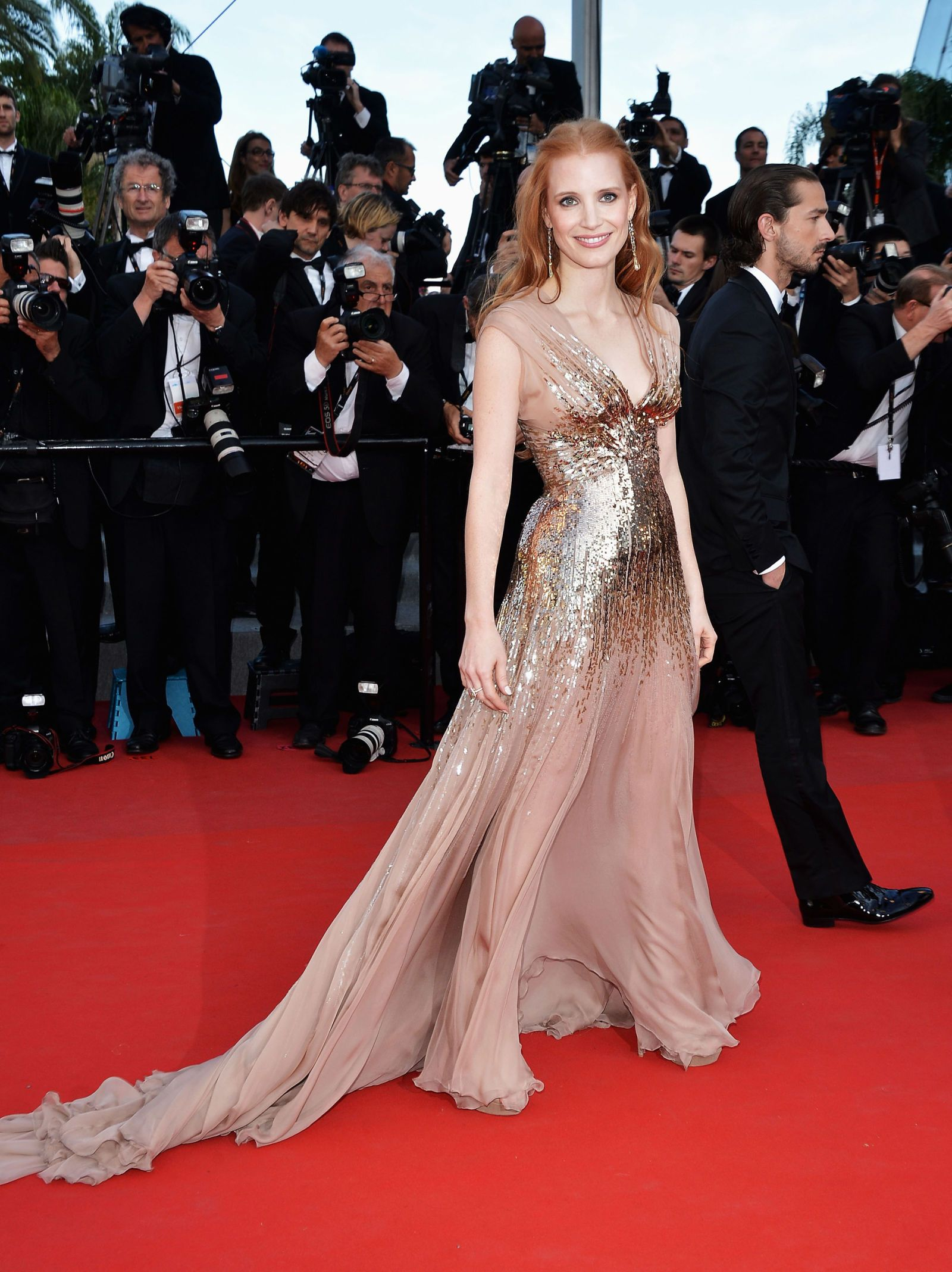 76f9a3034c29 Jessica Chastain Best Red Carpet Moments - Jessica Chastain Red Carpet  Fashion