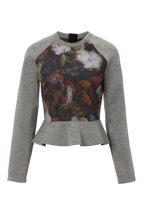 Product, Sleeve, Pattern, Fashion, Neck, Grey, Sweater, Design, Fashion design, Pattern,