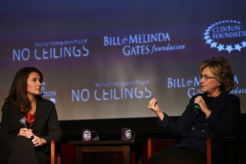 clinton and gates foundation