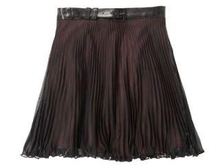 belted BCBG skirt