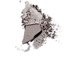 silver eye shadow