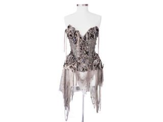 jeweled corset