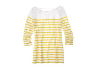 striped yellow shirt