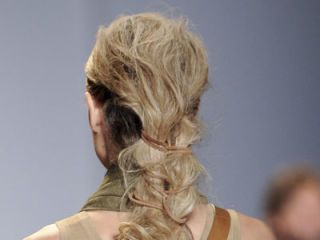 michael kors spring 2012 hair