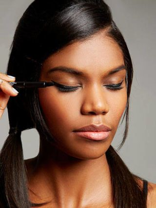 how to do a cat eye