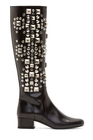 Boot, Musical instrument accessory, Woodwind instrument, Knee-high boot, Leather, Riding boot,