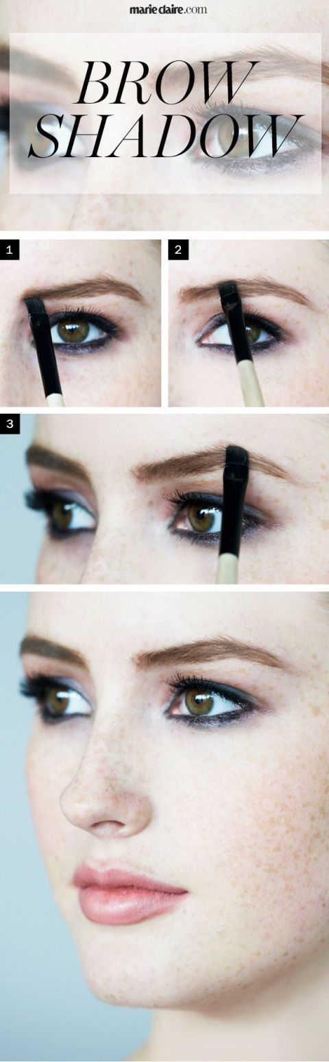 Makeup How-To: Brow Shadow