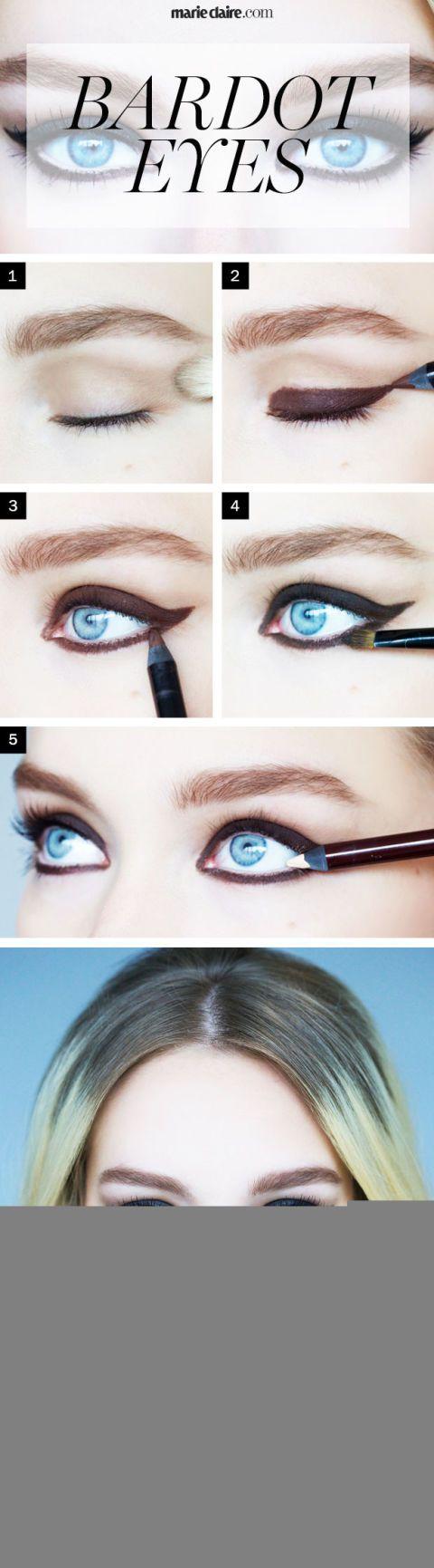 Makeup How To Brigitte Bardot Eye Makeup