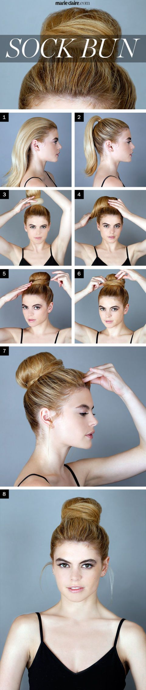 Hair How-To: Sock Bun