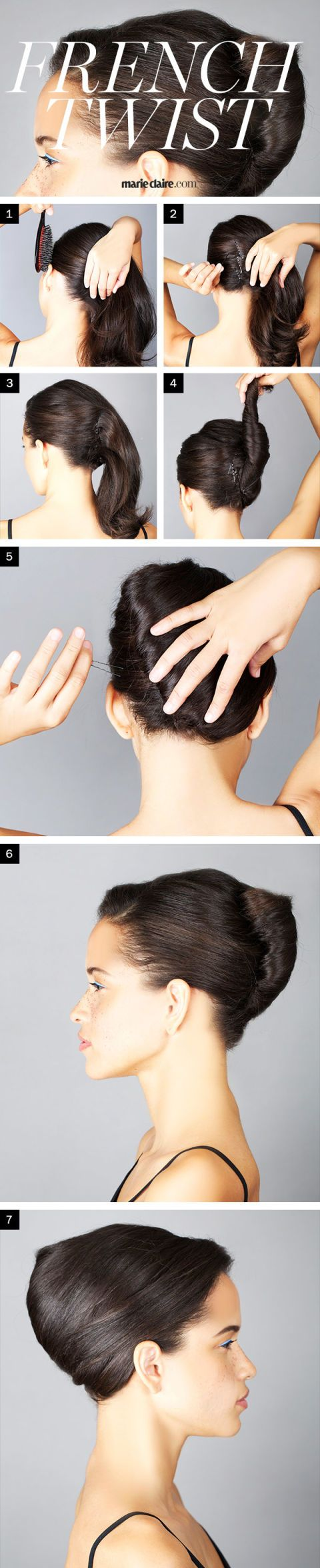 Hair How-To: A French Twist