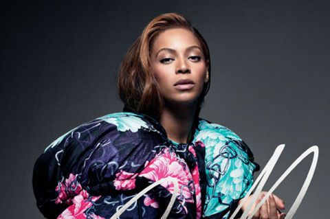 beyonce in cr fashion book