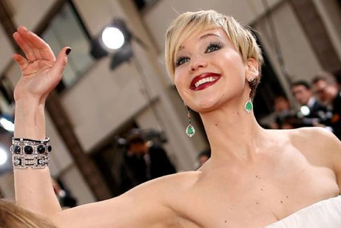 14 Important Jennifer Lawrence Moments From The Golden Globes