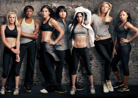 Nike Make Yourself Campaign Female Athletes Annie Leibovitz Photos Of Nike Athletes