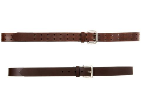 skinny brown belts
