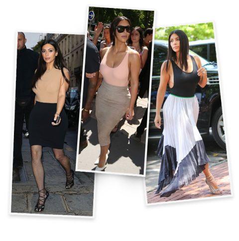 4b465574ed0 Kim Kardashian Styling Tricks - Kim Kardashian Fashion Tips