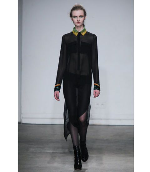 Clothing, Sleeve, Collar, Style, Formal wear, Fashion, Knee, Fashion model, Blazer, Tights,