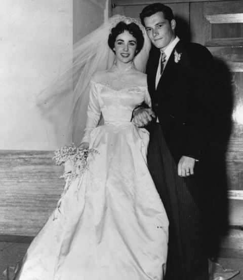 elizabeth taylor wedding to conrad hilton