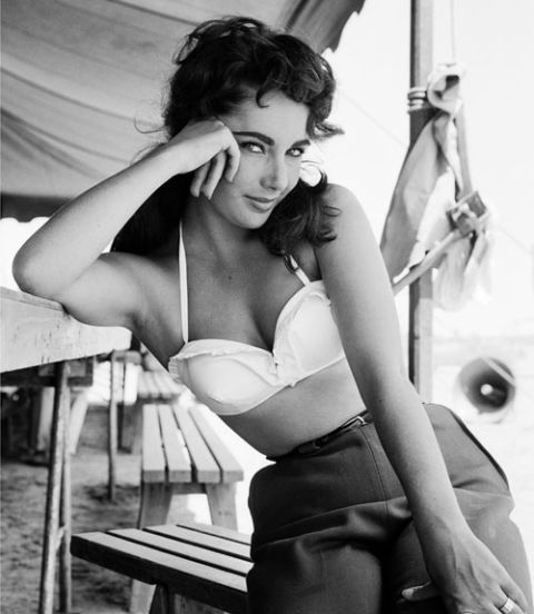 liz taylor in giant