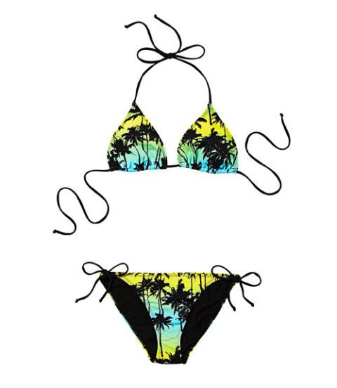 bright bikini