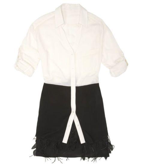 skirt and tunic