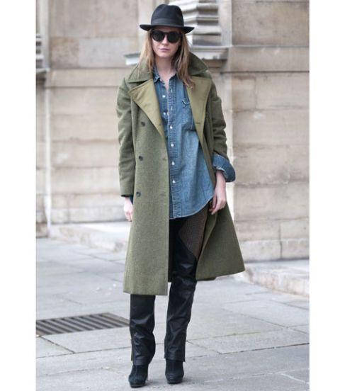 Paris Fashion Week Street Style F/W 2012, Day 8