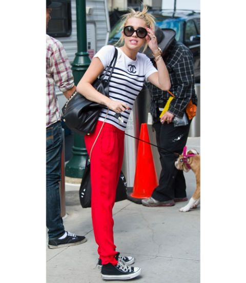 Miley cyrus street style summer