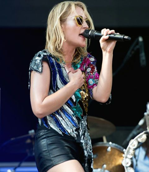 emily haines of metric at lollapalooza