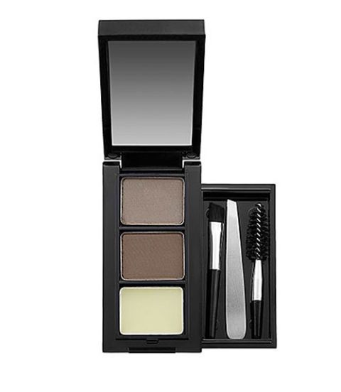 Use eyeshadow to fill in thinning brows.