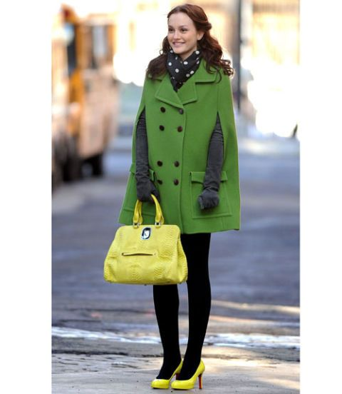 Clothing, Yellow, Shoulder, Textile, Bag, Outerwear, Street fashion, Style, Coat, Fashion accessory,
