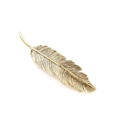 pluie feather barette