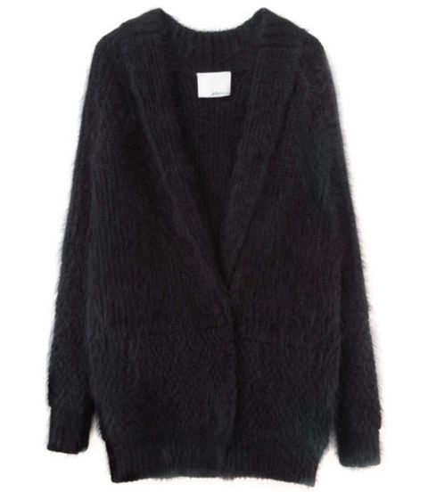 Product, Sleeve, Textile, Outerwear, Collar, Wool, Sweater, Woolen, Fashion, Black,