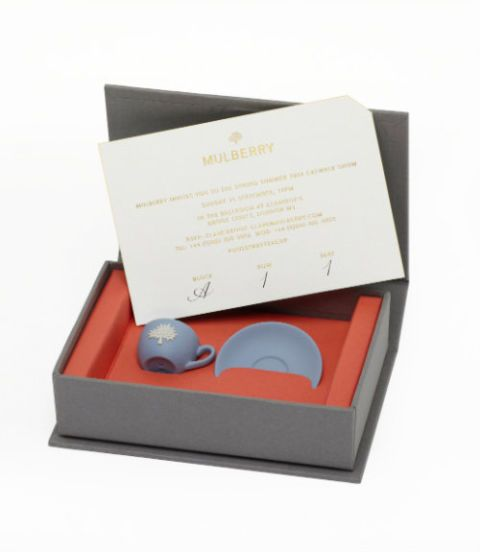 Mulberry S London Fashion Week Invitations Are So Delightfully British