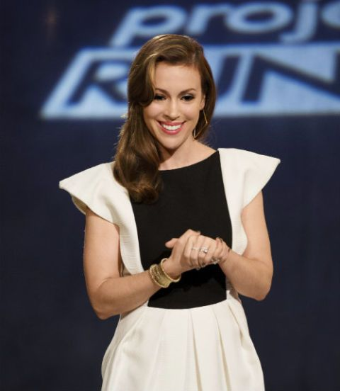 d01bf50b04886 Alyssa Milano Gives Us the Scoop on Project Runway All Stars