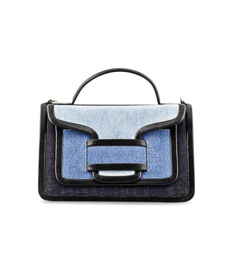Logo, Electric blue, Rectangle, Baggage, Satchel,