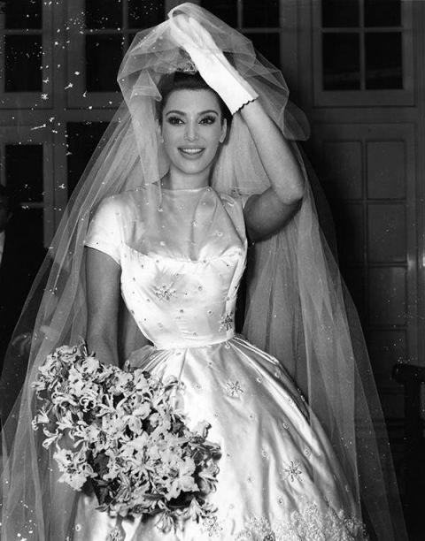 Cringiest Makeup Tutorials Of All Time: Kim Kardashian's Wedding Dress Revealed With The Magic Of