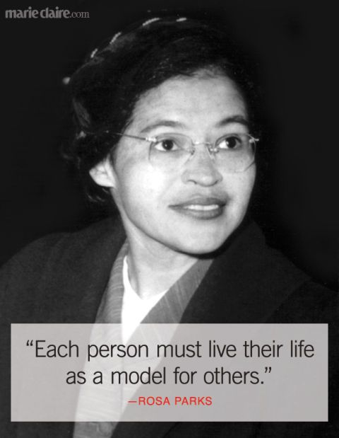 Best Rosa Parks Quotes Famous Quotes From Rosa Parks That Inspire Adorable Rosa Parks Quotes