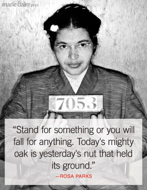Best Rosa Parks Quotes Famous Quotes From Rosa Parks That Inspire New Rosa Parks Quotes