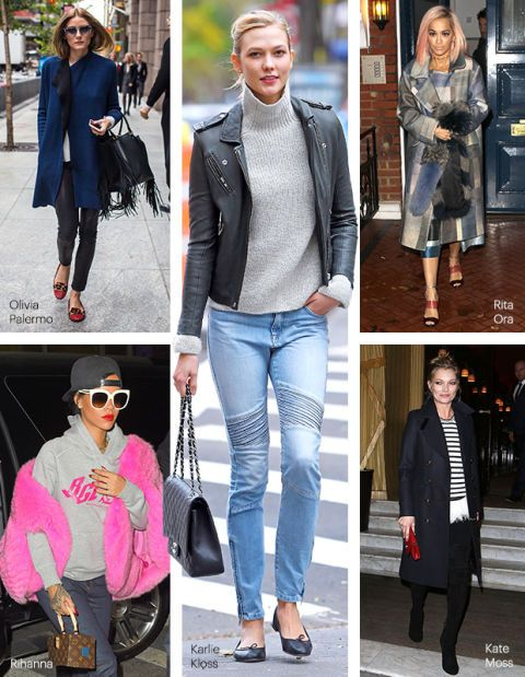 5 Celebs To Inspire Your Weekend Wardrobe