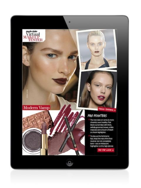 Brand New Beauty App - Marie Claire iPad Application