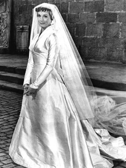 Sound of Music Maria Von Trapp Wedding Dress