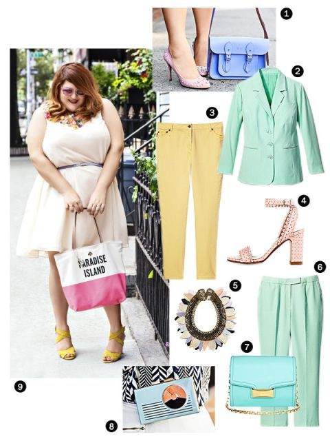 Big Girl in A Skinny World: Pretty Pastels