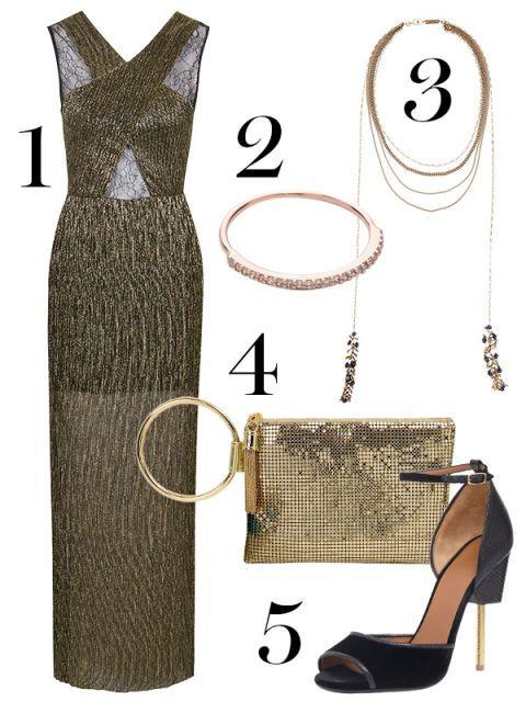 Dress, Formal wear, Pattern, Fashion, One-piece garment, Black, Bag, Day dress, Shoulder bag, Fashion design,