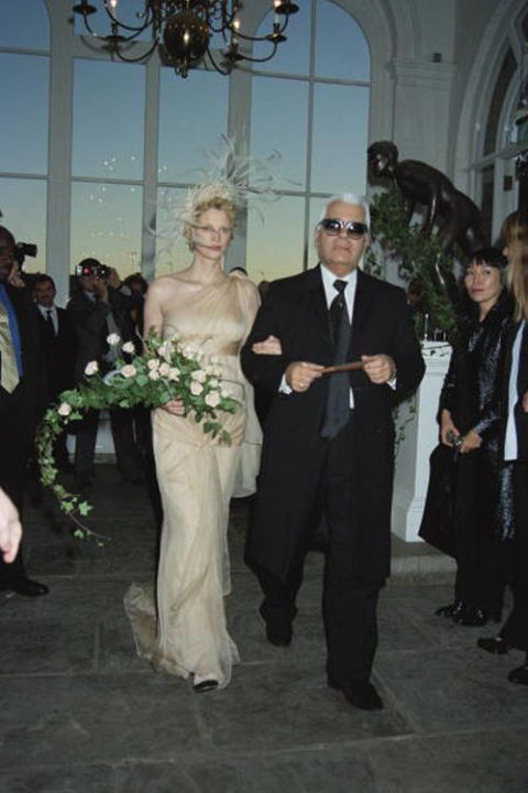 Kristen McMenamy There's no one in the world quite like Kristen McMenamy—who else can brag that Karl Lagerfeld walked them down the aisle? As for her unconventional, androgynous beauty, she wasn't immediately swept up by agencies.