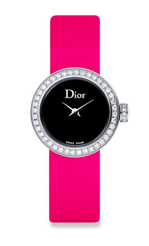 Product, Magenta, Pink, Watch, Purple, Font, Violet, Lavender, Maroon, Watch accessory,